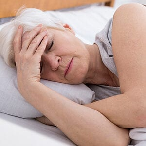 Insomnia and post-menopausal women
